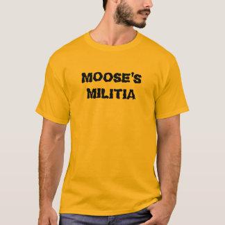 Camiseta A milícia do alce