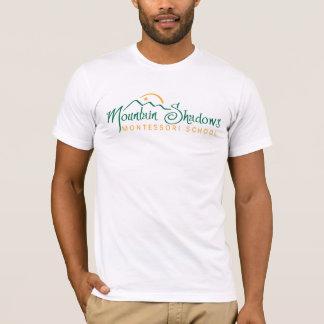 Camiseta A montanha sombreia o T dos homens