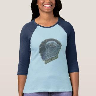 Camiseta A morsa do zombi Original-Afligiu desvanecido