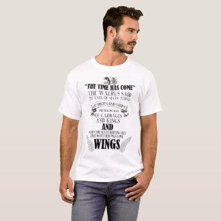 Camiseta A morsa e o carpinteiro