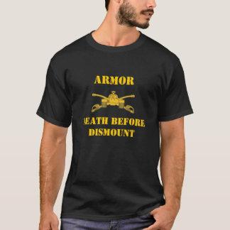 Camiseta A morte da armadura antes desmonta