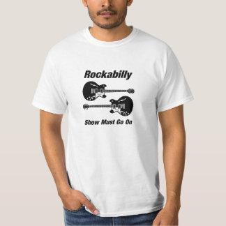Camiseta A mostra Rockabilly deve ir sobre