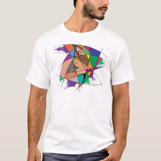 Camiseta A mulher abstrata por Stanley Mathis
