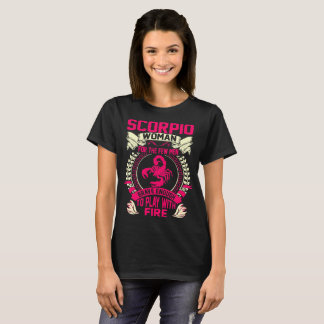 Camiseta A mulher da Escorpião para homens Brave o jogo com