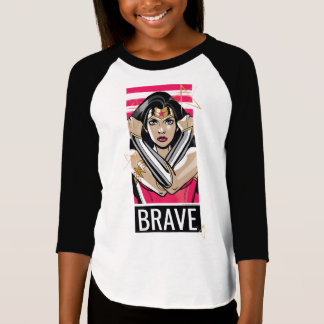 Camiseta A mulher maravilha defende - o modelo