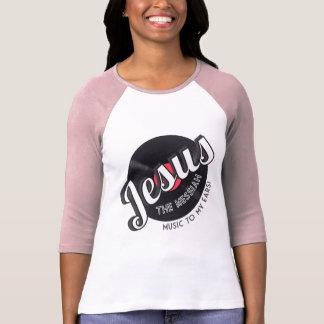 Camiseta A música das MESSIAS a minhas orelhas! T-shirt