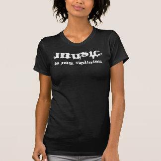 Camiseta A MÚSICA, é MINHA religião