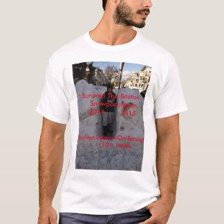 Camiseta A neve a mais má no t-shirt de Boston