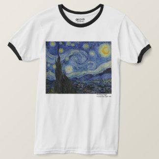 Camiseta A noite estrelado