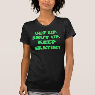 Camiseta a obscuridade mantem o skatin!!