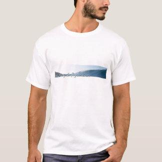 Camiseta A onda do surfista em Nicarágua