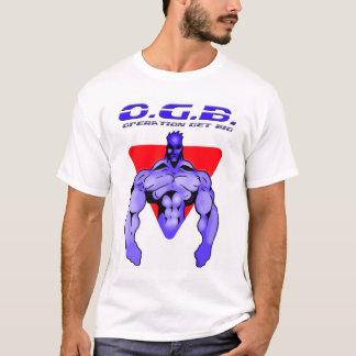 Camiseta A operação obtem grande