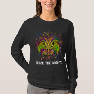 Camiseta A opinião escura do estilo da rainha do carnaval