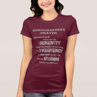 Camiseta A oração de Sonographer
