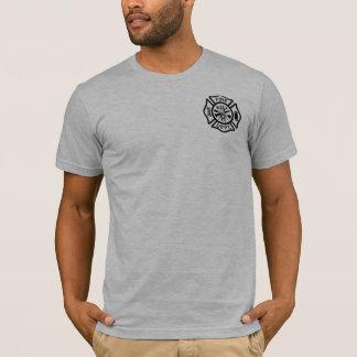 Camiseta A oração do sapador-bombeiro