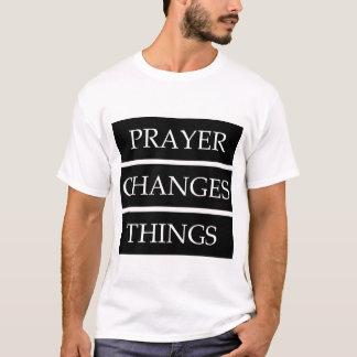 Camiseta A oração muda coisas