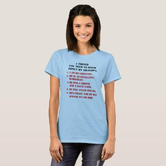 Camiseta A OU de 5 coisas deve saber sobre meu VOVÔ
