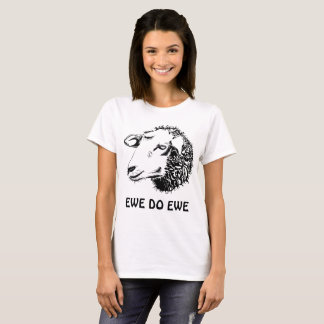Camiseta A ovelha faz o t-shirt da ovelha