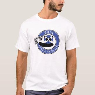 Camiseta A panda diz aye!