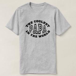 Camiseta A papá a mais fresca no mundo