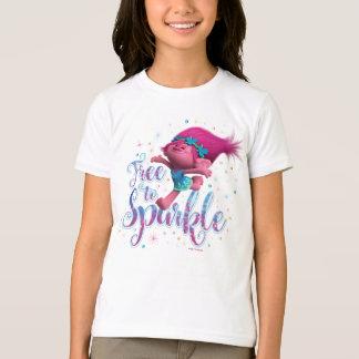 Camiseta A papoila dos troll | livra à faísca