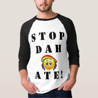"""Camiseta A parada Dah comeu! """"Pare a bola t da base do"""