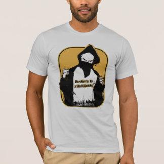 Camiseta A paranóia é consciência