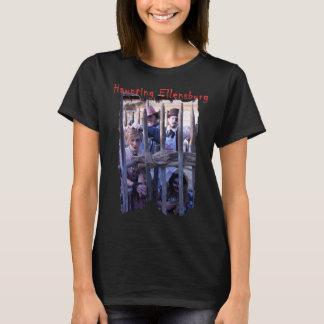 Camiseta A parte dianteira das mulheres/t-shirt traseiro de