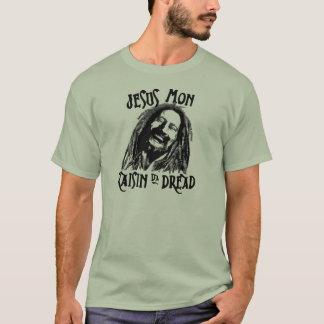 Camiseta A passa a Dinamarca de Jesus segunda-feira teme