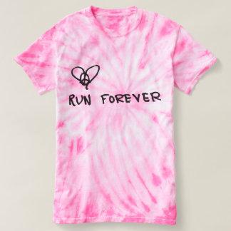 Camiseta A paz, amor, funcionamento amarra para sempre o T