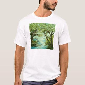 Camiseta A paz gosta de um rio