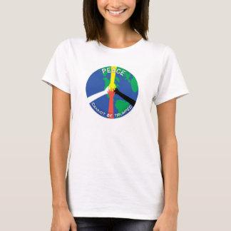 Camiseta A paz não pode Trumped - Tshirt
