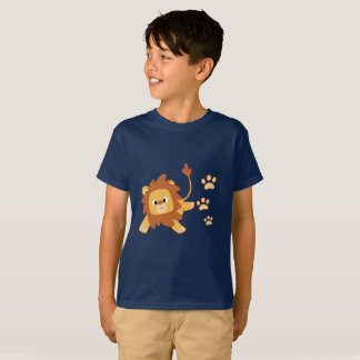 Camiseta A pegada do leão caçoa o t-shirt