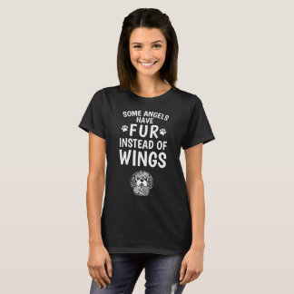 Camiseta A pele em vez das asas Shih Tzu enfrenta o t-shirt