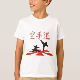 Camiseta A perspectiva do karaté