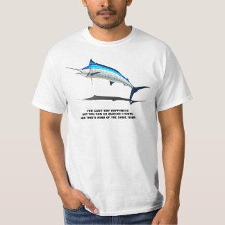 Camiseta A pesca do espadim é felicidade