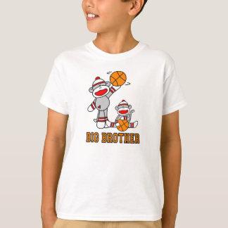 Camiseta A peúga Monkeys o big brother do basquetebol