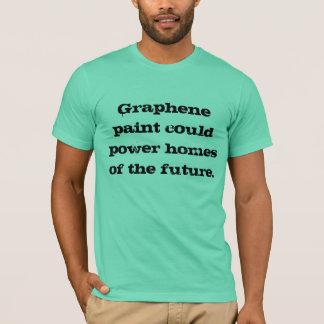 Camiseta A pintura de Graphene podia pôr casas do futuro