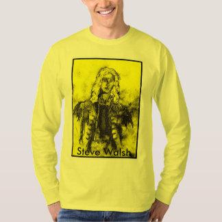 Camiseta A pintura de Steve Walsh viva no uísque ir vai