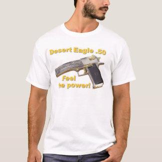 Camiseta a pistola de Eagle do deserto