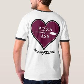 Camiseta A pizza de dois Jay meu coração