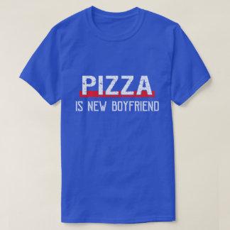 Camiseta A pizza é dia dos namorados engraçado do namorado