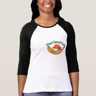 Camiseta A planta baseou o combustível! Abasteça seu estilo