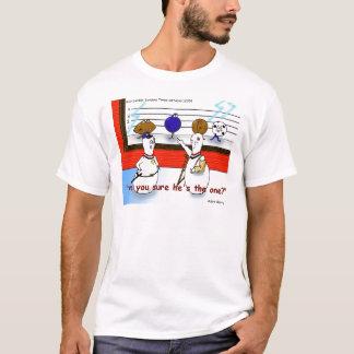 Camiseta A polícia engraçada da bola de boliche alinha