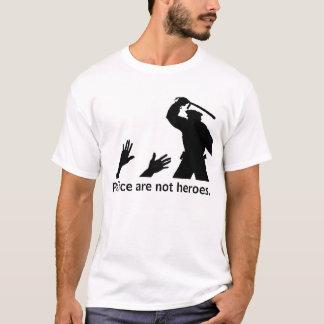Camiseta A polícia não é heróis. 2