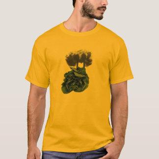 Camiseta A poluição é espinafre (as cores claras)