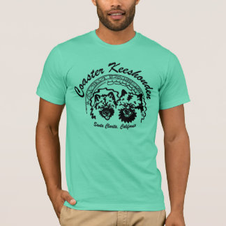 Camiseta a porta copos keeshonden