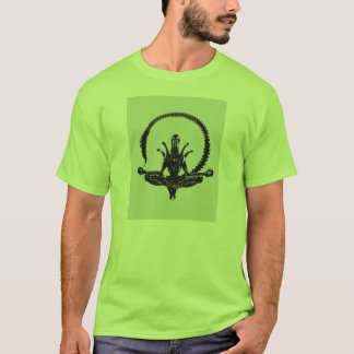 Camiseta A posição de Lotus estrangeira - encontre seu