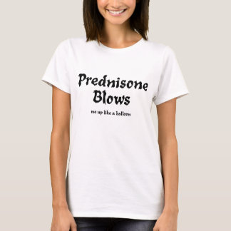 Camiseta A prednisona funde o t-shirt