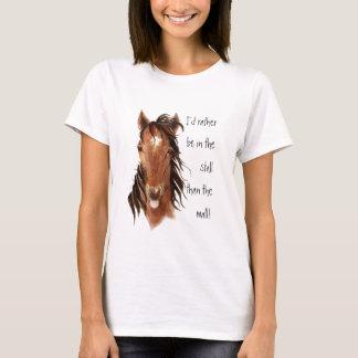 Camiseta A preferencialmente esteja na tenda do que o humor